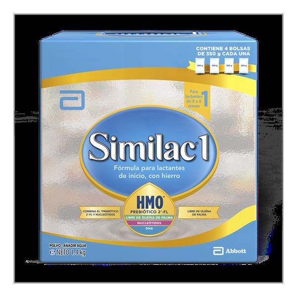 Similac 1 polvo, bib 1400 g  Similac - babytuto.com