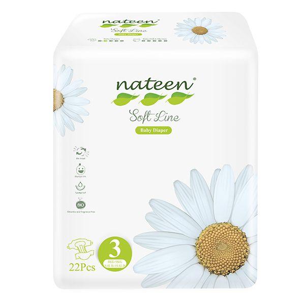 Pañal nateen 4 a 9 kilos talla M 22 unds Nateen - babytuto.com