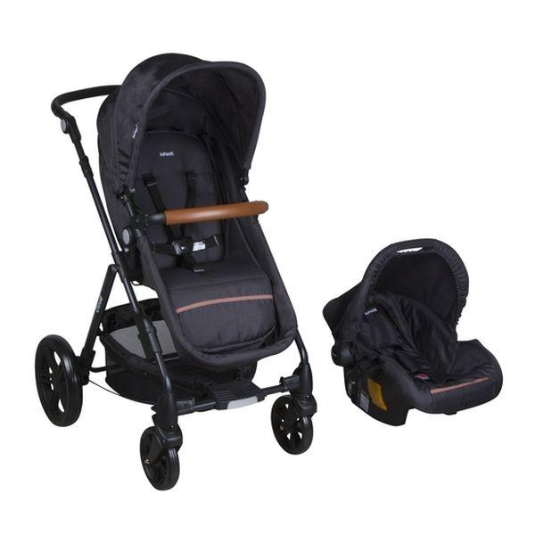 Coche Travel System Cloud, Negro, Infanti Infanti - babytuto.com