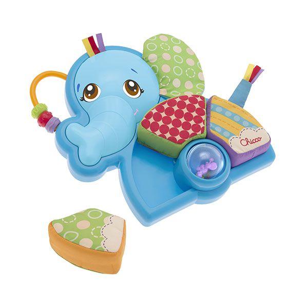 Primer puzzle de plush Elefante Chicco Chicco - babytuto.com