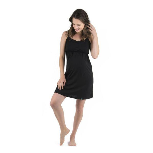 Camisa dormir bela negro Madremía Madremía - babytuto.com