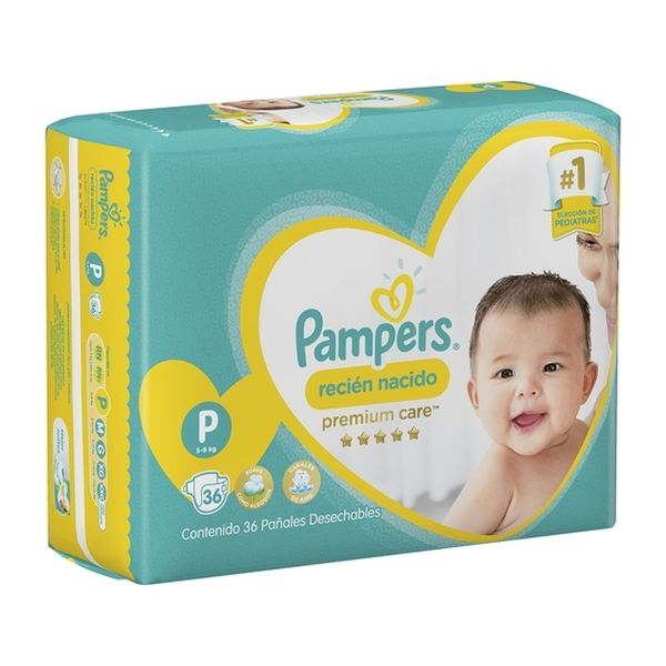 Pampers Premium Care Peq 36 unidades Pampers - babytuto.com