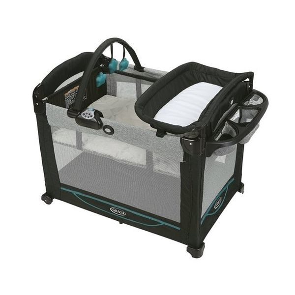 Cuna Pack & Play Element Darcie, Negro, Graco Graco - babytuto.com