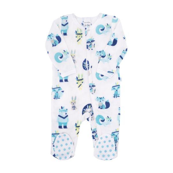 Pijama boy classic ethnic animals glowing, Bambino Bambino - babytuto.com