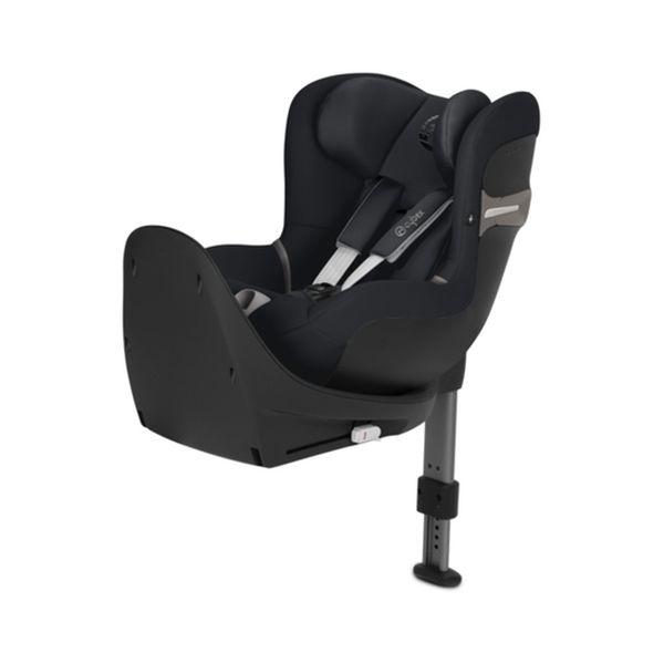 Silla de Auto Convertible Sirona S I-Size 360 Negra+ Base Cybex - babytuto.com