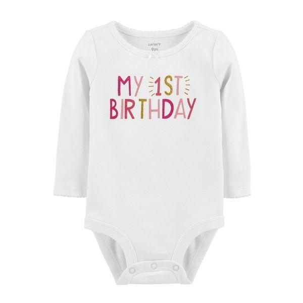 Bodie estampado primer cumpleaños Carter's Carter's - babytuto.com