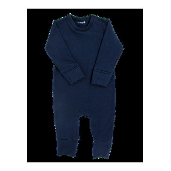 Enterito- pijama de algodón, azul,  Primär Primär - babytuto.com