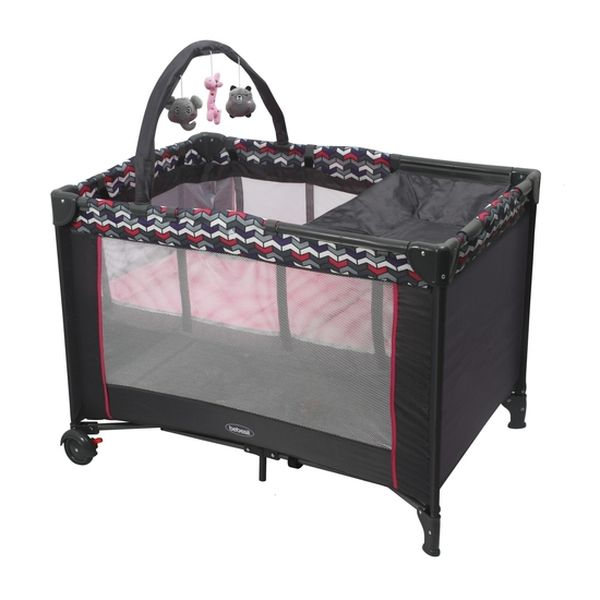 Cuna pack & play sleep II Rosa Bebesit Bebesit - babytuto.com