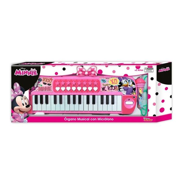 Órgano Con Micrófono Minnie Disney Disney - babytuto.com
