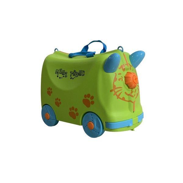Maleta de viaje ride & roll verde Kidscool Kidscool - babytuto.com