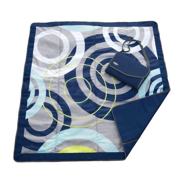 Manta impermeable grande círculos azul JJ Cole JJ Cole - babytuto.com
