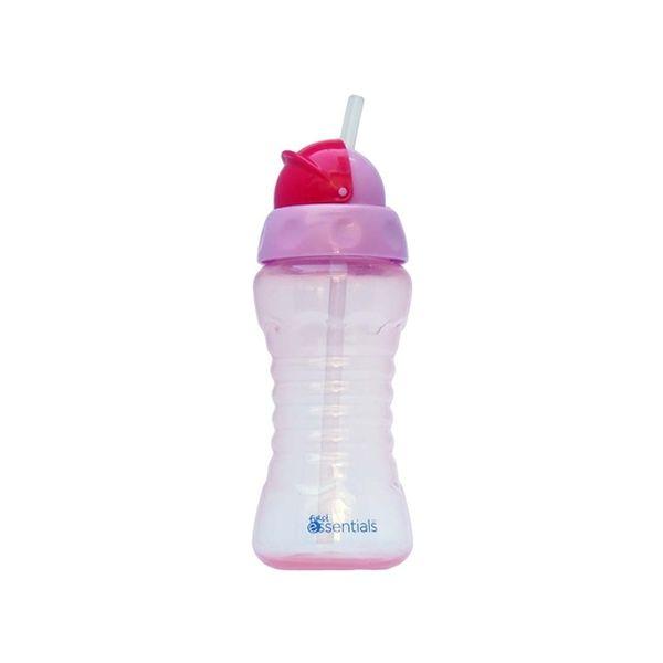 Vaso Con Bombilla Sport 270ml Rosado , First Essentials  First Essentials  - babytuto.com