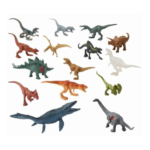 Pack 15 Mini Dinosaurios Jurassic World Jurassic World