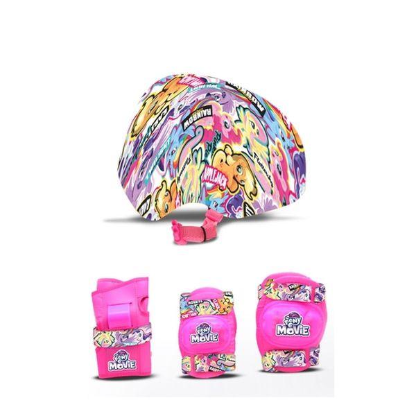Set casco y rodilleras My Little Pony My Little Pony - babytuto.com