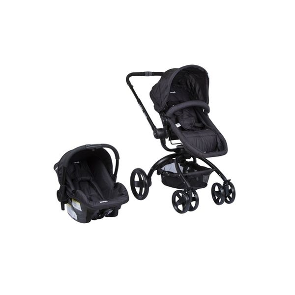 Coche Travel System L-giro 360°, Gris Oscuro, Infanti Infanti - babytuto.com