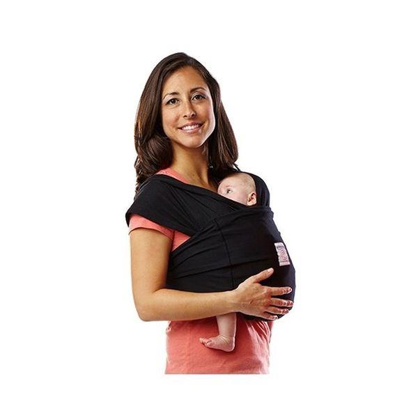 Portabebé Sin amarras básico, negro, Baby K'tan Baby K'tan - babytuto.com