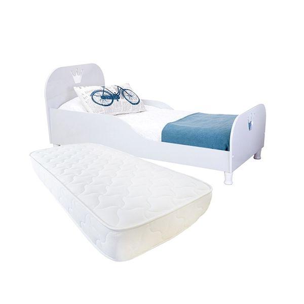 Pack cama de transición de madera + colchón 150x70 Kidscool   Kidscool - babytuto.com