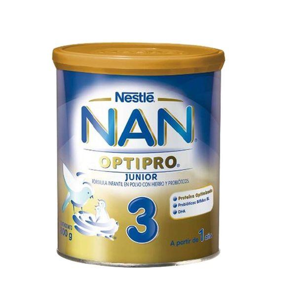 Fórmula Infantil NAN Optipro 3 junior 800g Nestlé Nestlé - babytuto.com