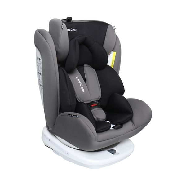 Silla de auto convertible etapa 1, 2 y 3 Isofix gris Kidscool Kidscool - babytuto.com