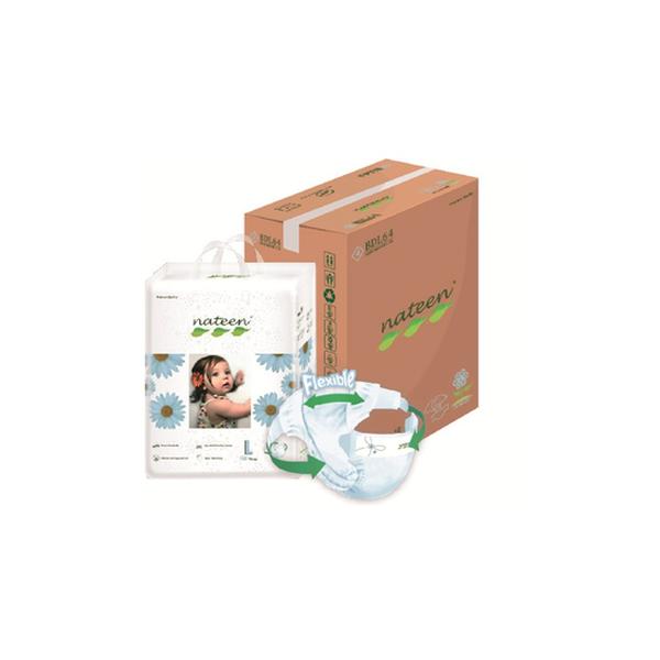 Pañal Desechable Premium Nateen Talla: G (7 - 18 Kg) 128 uds Nateen - babytuto.com