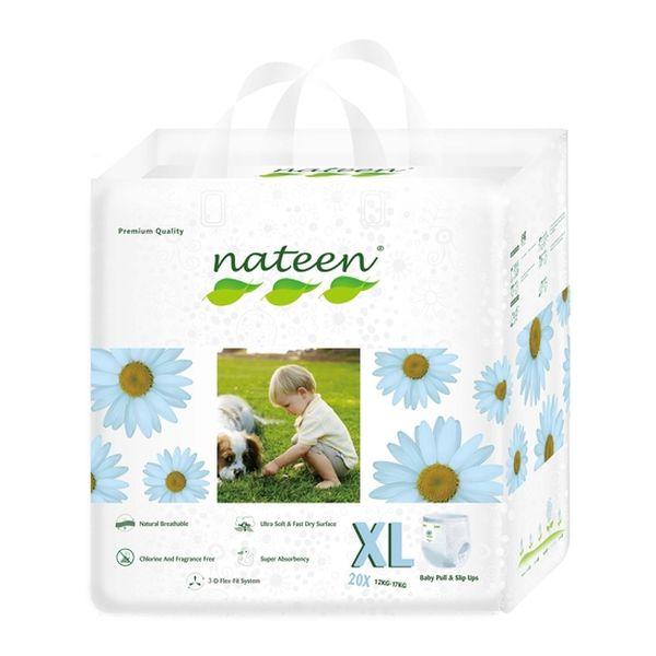 Pañal De Entrenamiento Premium Nateen Talla: XG (12 - 25 Kg) 20 uds Nateen - babytuto.com