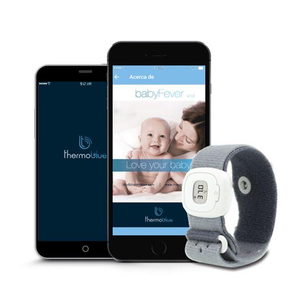 Monitor de temperatura para bebés THERMOBLUE - babytuto.com