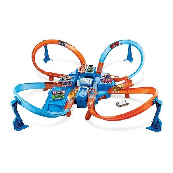 Pista Hot Wheels Criss Cross Hot Wheels - pulpotoys.com
