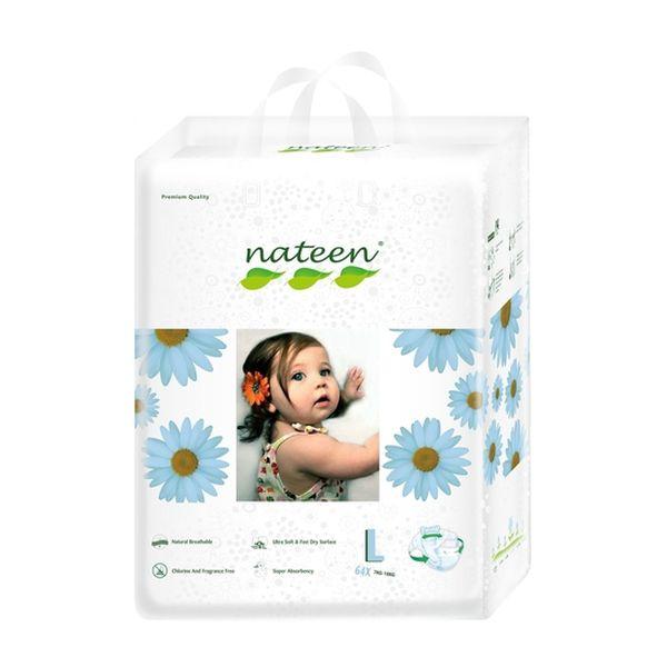 Pañal Desechable Premium Nateen Talla: G (7 - 18 Kg) 64 uds Nateen - babytuto.com