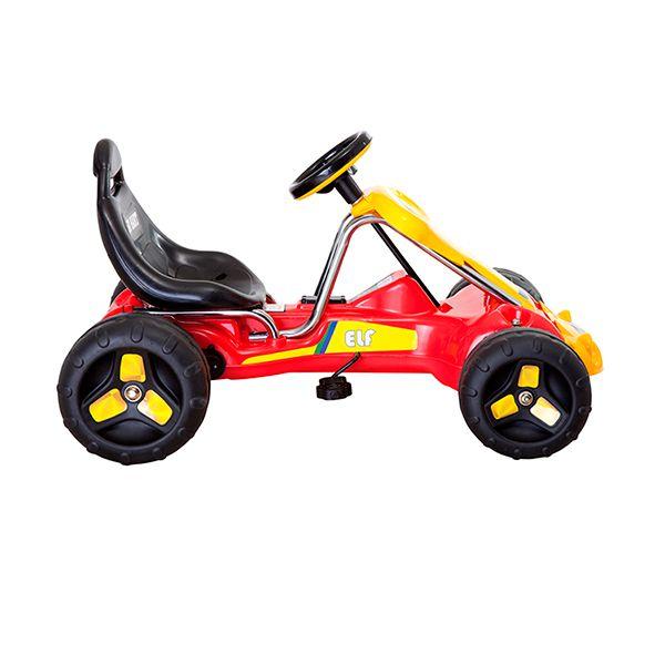 Go kart a pedales rojo Kidscool - babytuto.com