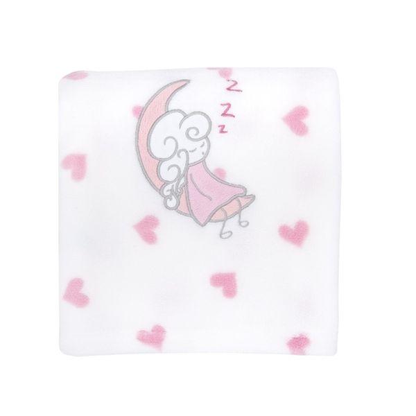 Frazada coral classic niña rosada hadas Bambino Bambino - babytuto.com
