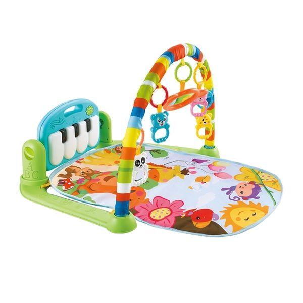Gimnasio para bebé  musical con arco modelo rs-18300, Bebeglo Bebeglo - babytuto.com