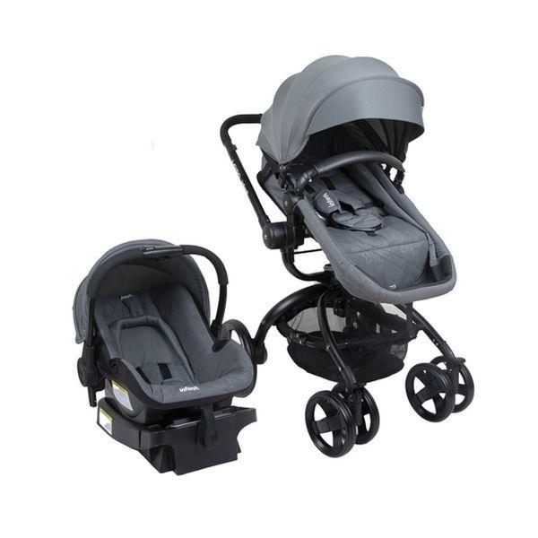 Coche travel system i-giro bright, gris, Infanti Infanti - babytuto.com