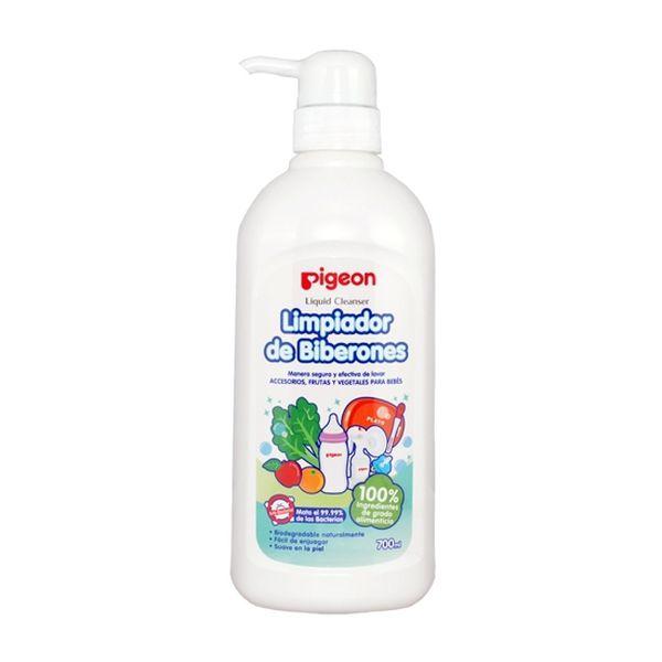 Líquido limpiador de mamaderas con dosificador  Pigeon Pigeon - babytuto.com