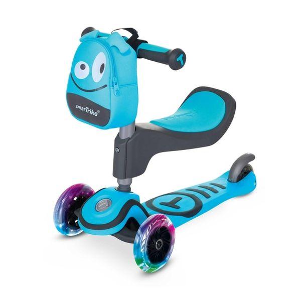 Scooter t1, azul, Smart Trike Smart Trike - babytuto.com