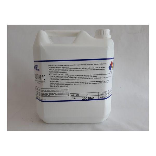 Desinfectante Amonio Cuaternario 5lts RSG - babytuto.com