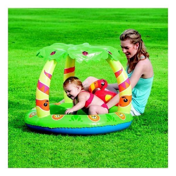 Piscina de juegos con protección solar 99cm x 91cm x 71cm Bestway Bestway - babytuto.com