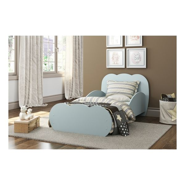 Mini cama azul cloud Kidscool Kidscool - babytuto.com