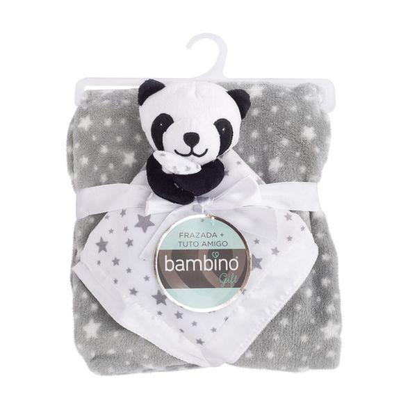 Frazada + tuto amigo panda Bambino Bambino - babytuto.com