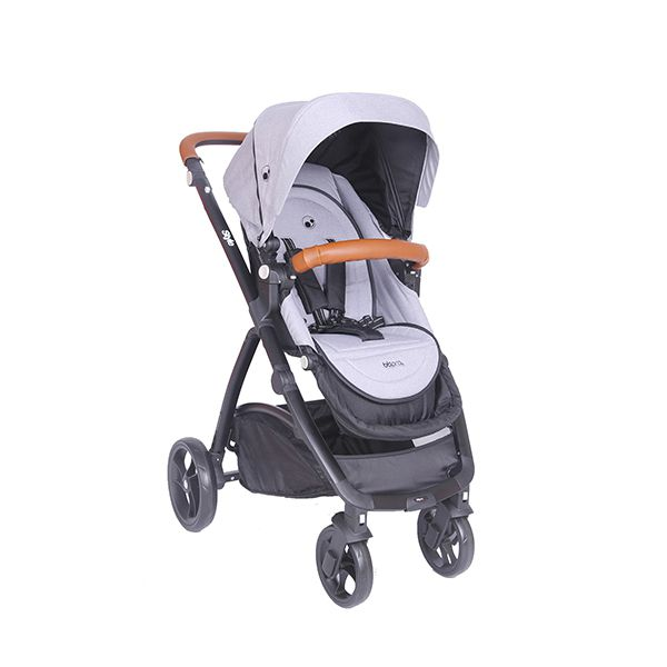 Coche paseo Style gris BBpro - babytuto.com