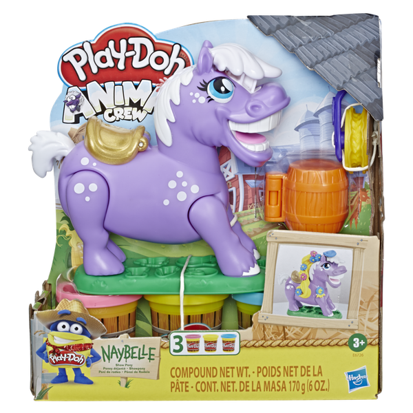 Play-Doh Animal Crew Naybelle Poni De Rodeo, Hasbro Play-Doh - babytuto.com