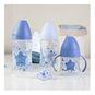 Pack mamaderas de plástico, diseño estrellass, azul, Suavinex Suavinex - babytuto.com