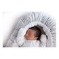 Nido colecho gris estrellas y lunas Capullo de bebé Capullo de bebé - babytuto.com