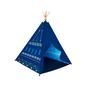 Carpa tipi azul 120x120x150cm Dactic Dactic - babytuto.com