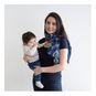 Pañuelo de lactancia gotitas morado Canguamor Canguamor - babytuto.com