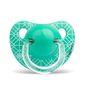 Chupete de silicona anatómico panda rama, + 18 meses, verde, Suavinex Suavinex - babytuto.com