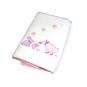 Set cuna pack & play plumón y sábanas bordado niña Bebeglo BEBEGLO - babytuto.com