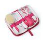 Set de aseo para bebé 6 piezas rosado Nuvita Nuvita - babytuto.com
