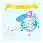 Pack x 3 Pañales Desechables Merries RN (hasta 5 Kg) 72 uds Merries - babytuto.com